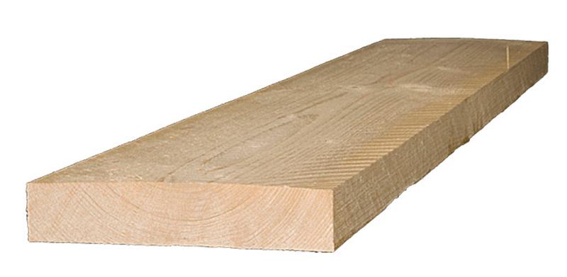 Holzbalken für das Pultdach